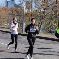 """Vilnius 10 km run, """"Run with Živilė Balčiūnaitė"""". - Renata Abromaviciute (2103)"""