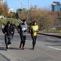 """Vilnius 10 km run, """"Run with Živilė Balčiūnaitė"""". - Juozas Kieras (2279), Kęstutis Šimkevičius (2425)"""