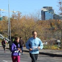 """Vilnius 10 km run, """"Run with Živilė Balčiūnaitė"""". - Modestas Kiznis (2332)"""