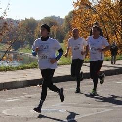 """Vilnius 10 km run, """"Run with Živilė Balčiūnaitė"""". - Tomas Petraitis (2309), Sigitas Pašakinskas (2310), Kipras Daukantas (2527)"""