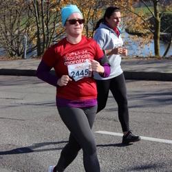 """Vilnius 10 km run, """"Run with Živilė Balčiūnaitė"""". - Aigustė Poderienė (2445)"""