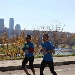 """Vilnius 10 km run, """"Run with Živilė Balčiūnaitė"""". - Jaunius Belickas (2398), Šarūnas Kasnauskas (2407)"""