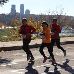 """Vilnius 10 km run, """"Run with Živilė Balčiūnaitė"""". - Genadijus Petrikas (2299), Gediminas Latvys (2593), Eglė Vaigauskaitė (2599)"""