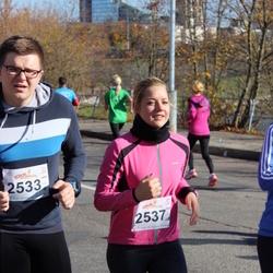 """Vilnius 10 km run, """"Run with Živilė Balčiūnaitė"""". - Tautvydas Valkevičius (2533), Agnė Taučiūtė (2537)"""