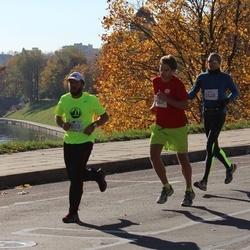 """Vilnius 10 km run, """"Run with Živilė Balčiūnaitė"""". - Julius Budrevičius (2479), Antanas Steponavičius (2528), Agnė Markauskaite (2560)"""