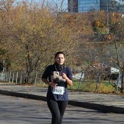 """Vilnius 10 km run, """"Run with Živilė Balčiūnaitė"""". - Monika Svėrytė (2089)"""