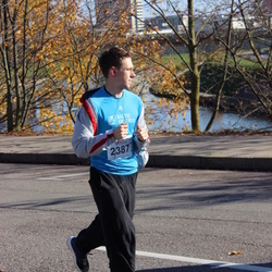"""Vilnius 10 km run, """"Run with Živilė Balčiūnaitė"""". - Mindaugas Jokubonis (2387)"""