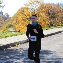 """Vilnius 10 km run, """"Run with Živilė Balčiūnaitė"""". - Giedrius Martinaitis (2011)"""