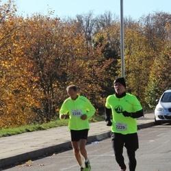 """Vilnius 10 km run, """"Run with Živilė Balčiūnaitė"""". - Darius Daugvila (2229), Juozas Songaila (2359)"""
