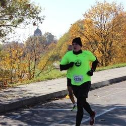 """Vilnius 10 km run, """"Run with Živilė Balčiūnaitė"""". - Darius Daugvila (2229)"""