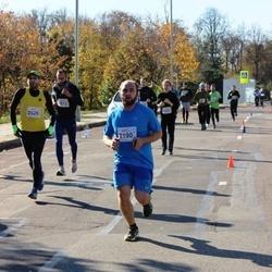 """Vilnius 10 km run, """"Run with Živilė Balčiūnaitė"""". - Karolis Žemeckis (2190), Marius Turulis (2529)"""