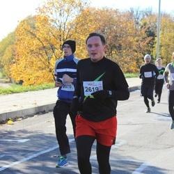 """Vilnius 10 km run, """"Run with Živilė Balčiūnaitė"""". - Algirdas Strazdauskas (2070), Žilvinas Janukėnas (2619)"""
