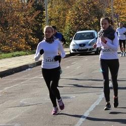 """Vilnius 10 km run, """"Run with Živilė Balčiūnaitė"""". - Rūta Martinkutė (2434), Aušra Martinkutė (2435)"""