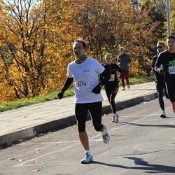 """Vilnius 10 km run, """"Run with Živilė Balčiūnaitė"""". - Nerijus Adomaitis (2179), Edvinas Dargužis (2427)"""