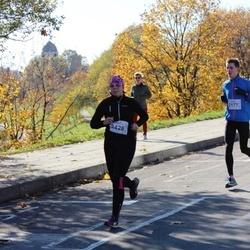 """Vilnius 10 km run, """"Run with Živilė Balčiūnaitė"""". - Saulius Mašnauskas (2177), Maryna Hladkaja (2426)"""