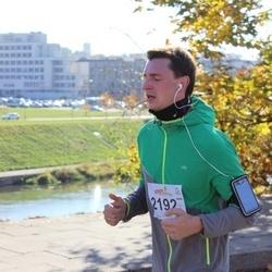 """Vilnius 10 km run, """"Run with Živilė Balčiūnaitė"""". - Audrius Aleksandravičius (2192)"""