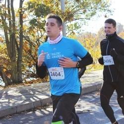"""Vilnius 10 km run, """"Run with Živilė Balčiūnaitė"""". - Vytautas Kaminskas (2404), Vytis Nevedomskis (2496)"""