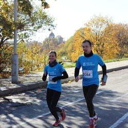 """Vilnius 10 km run, """"Run with Živilė Balčiūnaitė"""". - Raimondas Pučka (2384), Indrė Pinkevičiūtė (2406)"""