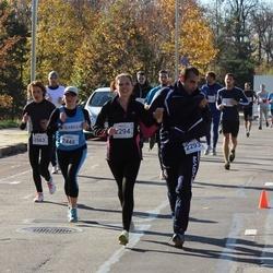 """Vilnius 10 km run, """"Run with Živilė Balčiūnaitė"""". - Marco Rosello (2293), Vaida Bytautaitė (2294), Sigita Kiškytė (2448), Danguolė Bičkūnienė (2563)"""