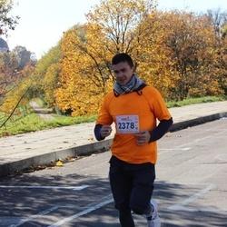 """Vilnius 10 km run, """"Run with Živilė Balčiūnaitė"""". - Dmitrij Nečepurenko (2378)"""