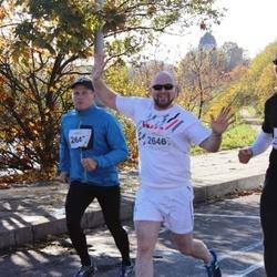 "Vilnius 10 km run, ""Run with Živilė Balčiūnaitė"". - Jim Bastick (2646), Mikko Lempiainen (2647)"