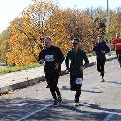 """Vilnius 10 km run, """"Run with Živilė Balčiūnaitė"""". - Raimondas Rakauskas (2409), Martynas Ramanauskas (2410)"""