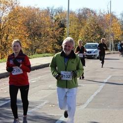 """Vilnius 10 km run, """"Run with Živilė Balčiūnaitė"""". - Urtė Bernatavičiūtė (2129), Rimantas Bernatavicius (2132)"""