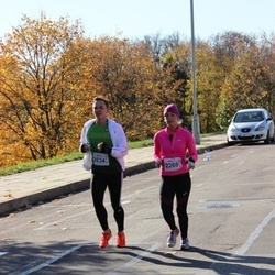 """Vilnius 10 km run, """"Run with Živilė Balčiūnaitė"""". - Monika Stogevičiūtė (2269), Simas Treinys (2634)"""