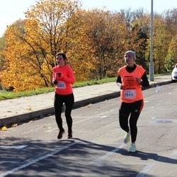 """Vilnius 10 km run, """"Run with Živilė Balčiūnaitė"""". - Inga Gaidamavičiūtė (2283), Vaida Domasiute (2511)"""