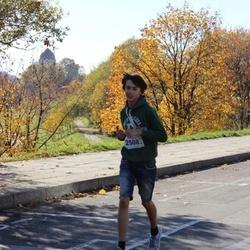 """Vilnius 10 km run, """"Run with Živilė Balčiūnaitė"""". - Dovydas Šalučka (2508)"""