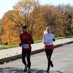 """Vilnius 10 km run, """"Run with Živilė Balčiūnaitė"""". - Julija Lakytė Kėvišienė (2290), Martynas Kėvišas (2315)"""