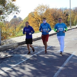 """Vilnius 10 km run, """"Run with Živilė Balčiūnaitė"""". - Tadeuš Varnas (2385), Marius Lukošiūnas (2386)"""