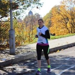 "Vilnius 10 km run, ""Run with Živilė Balčiūnaitė"". - Katja Schmela-Avizedeq (2231)"