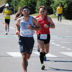 Olimpinės dienos bėgimas - MatikiūnasAudrius (3039), DvoriakovasSergejus (4101)