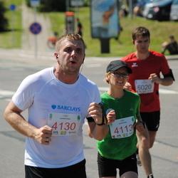 Olimpinės dienos bėgimas - MacelytėJolita (4113), JuozaitisEdvinas (4130)