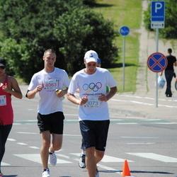 Olimpinės dienos bėgimas - GervelytėRūta (3031), MisevičiusLaurynas (3073), StagniūnasPaulius (4063)