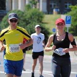 Olimpinės dienos bėgimas - DalinkevičiusAndrius (6066), MikelevičienėVaiva (6067)