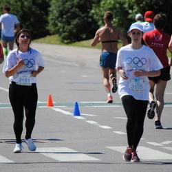 Olimpinės dienos bėgimas - RadzvilavičiūtėViltė (3105), RumiancevaJelena (3151)
