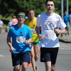 Olimpinės dienos bėgimas - StonkusRimantas (4127), ŠimanskisRemigijus (4162)