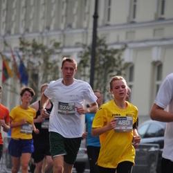11th Danske Bank Vilnius Marathon - Donata Keršyte (4601), Mantas Dubickas (5246)