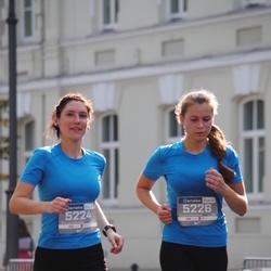 11th Danske Bank Vilnius Marathon - Dovile Lažinskiene (5224), Simona Kurmyte (5226)