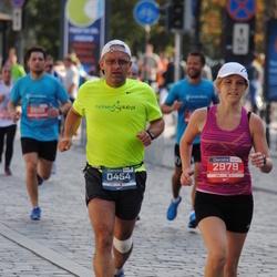 11th Danske Bank Vilnius Marathon - Wojciech Krajewski (454), Oksana Balciene (2979)