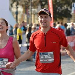 11th Danske Bank Vilnius Marathon - Jovita Cernauskyte (4054), Kostas Talmontas (4055)