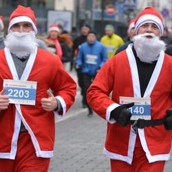 Perskindol kalėdinis bėgimas - Augustas Kirdeikis (2140), Jonas Vadapalas (2203)