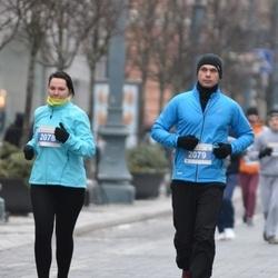 Perskindol kalėdinis bėgimas - Olga Rodyanskaya (2078), Jurij Astafjev (2079)