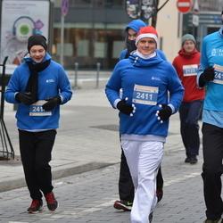 Perskindol kalėdinis bėgimas - Marius Lukošiunas (2411), Mindaugas Gaurys (2416)