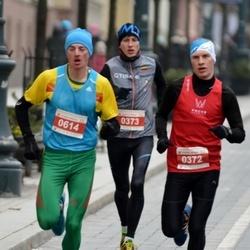 Perskindol kalėdinis bėgimas - Darius Sadeckas (372), Valdas Dopolskas (614)
