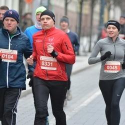 Perskindol kalėdinis bėgimas - Olga Kondratjeva (45), Gintaras Dicevicius (104), Tomas Degutis (331)
