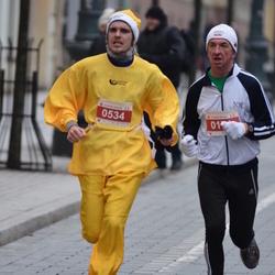 Perskindol kalėdinis bėgimas - Albinas Markevicius (171), Rapolas Striukas (534)
