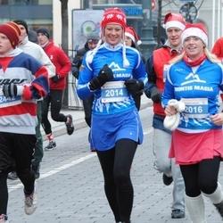 Perskindol kalėdinis bėgimas - Migle Žalnierukyniene (2014), Ruta Giedriene (2016)
